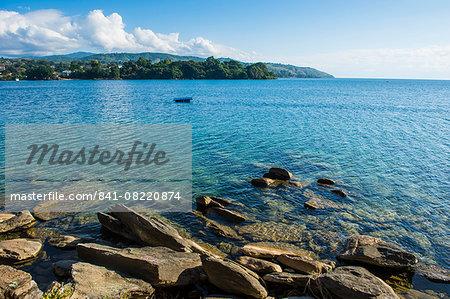 View over Nkhata Bay, Lake Malawi, Malawi, Africa