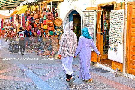 The Medina, Rabat, Morocco, North Africa, Africa