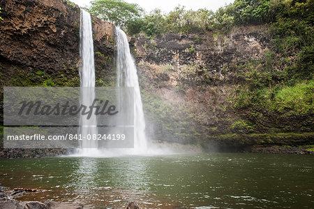 Wailua Falls, Kauai, Hawaii, United States of America, Pacific