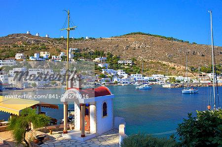 Panteli, Leros, Dodecanese, Greek Islands, Greece, Europe