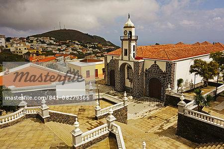 Iglesia Santa Maria de la Concepcion, Valverde, El Hierro, Canary Islands, Spain, Europe