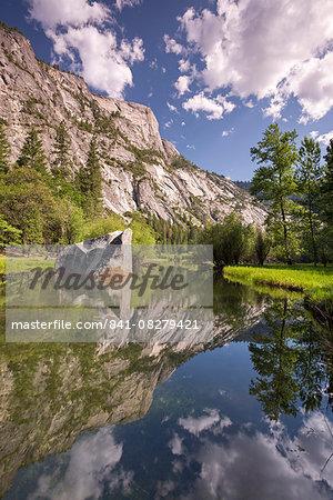 Mirror Lake in Yosemite National Park, UNESCO World Heritage Site, California, United States of America, North America