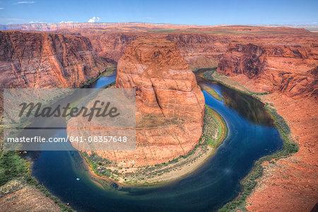 Horseshoe Bend, near Page, Arizona, United States of America, North America