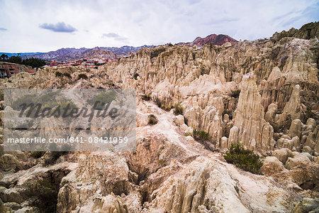 Valle de la Luna (Valley of the Moon), La Paz, La Paz Department, Bolivia, South America