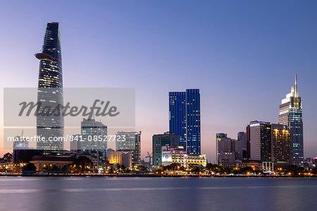 Saigon river, Ho Chi Minh city, Vietnam, Southeast Asia