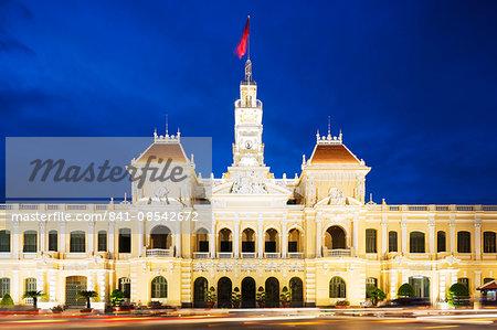 Hotel de Ville (City Hall), Ho Chi Minh City (Saigon), Vietnam, Indochina, Southeast Asia, Asia
