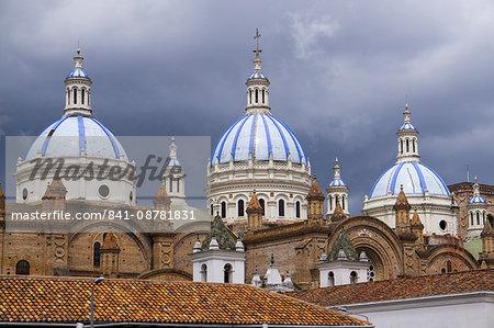 Cuenca cathedral, Cuenca, UNESCO World Heritage Site, Ecuador, South America