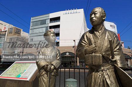 Tokisirube statues, Kagoshima City, Kyushu Island, Japan, Asia