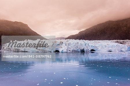 Marjorie Glacier in Glacier Bay National Park, Alaska, United States of America, North America