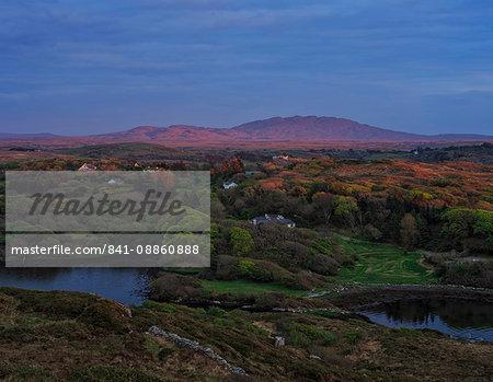 Errisbeg and Roundstone Bog, Connemara, County Galway, Connacht, Republic of Ireland, Europe