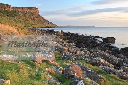 Fair Head, Murlough Bay, County Antrim, Ulster, Northern Ireland, United Kingdom, Europe