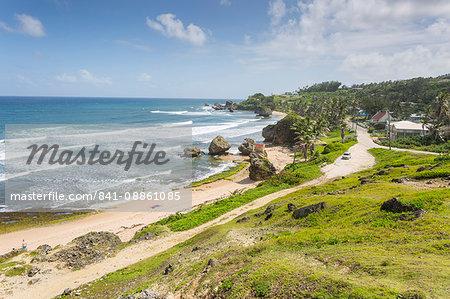 Bathsheba Beach, Bathsheba, St. Joseph, Barbados, West Indies, Caribbean, Central America