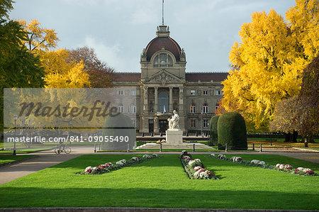 Prefecture de Strasbourg, Strasbourg, Alsace, France, Europe