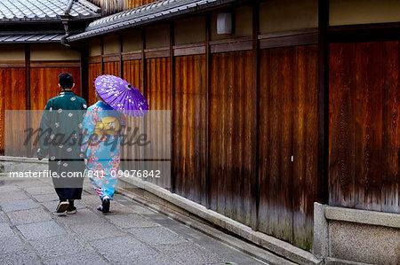 Ishibei koji area, Kyoto, Kansai region, Honshu island, Japan, Asia