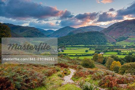 Rosthwaite, Borrowdale, Lake District National Park, Cumbria, England, United Kingdom, Europe