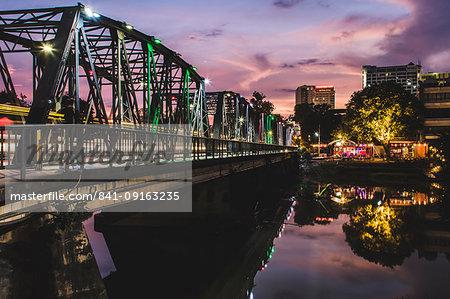 Iron Bridge, Chiang Mai, Thailand, Southeast Asia, Asia