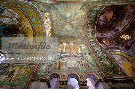 The Basilica of San Vitale, UNESCO World Heritage Site, Ravenna, Emilia-Romagna, Italy, Europe
