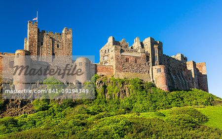 Bamburgh Castle, Northumberland, England, United Kingdom, Europe