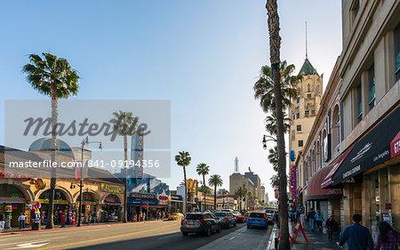 Hollywood Boulevard, Hollywood, Los Angeles, California, United States of America, North America