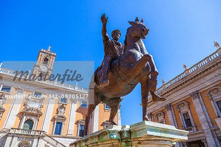 Campidoglio, Rome, Lazio, Italy, Europe