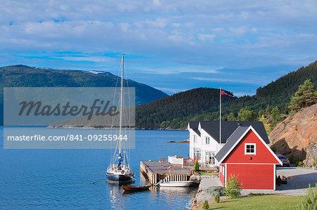 Balestrand and surrounding area, Norway, Scandinavia, Europe