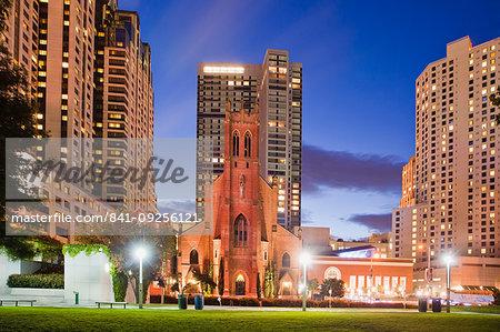 Yerba Buena Garden, San Francisco, California, United States of America, North America