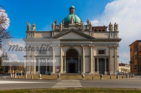 Cathedral of Sant'Eusebio, Vercelli, Piedmont, Italy, Europe