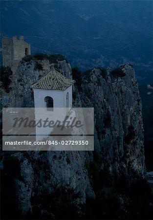 El Castell de Guadalest, Alicante, Spain. 11th century Spanish Castle