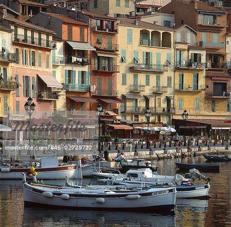 Harbour at Villefranche, Cote d'Azur.