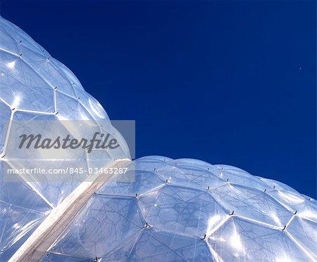 The Eden Project, Bodelva, Cornwall. Architects: Nicholas Grimshaw