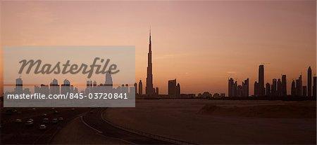 Burj Khalifa, Sheikh Zayed Road, Dubai. Architects: Skidmore, Owings and Merrill