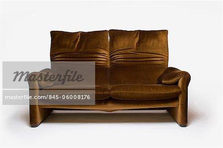 Maralunga Sofa, Italian, 1970s, manufactured by Cassina. Designer: Vico Magistretti