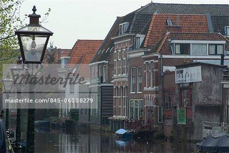 Canal view, Leiden.