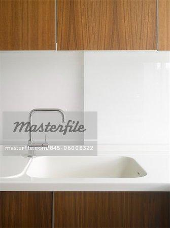 Sink detail in Edgware house extension, London, UK. Architects: Paul Archer Design