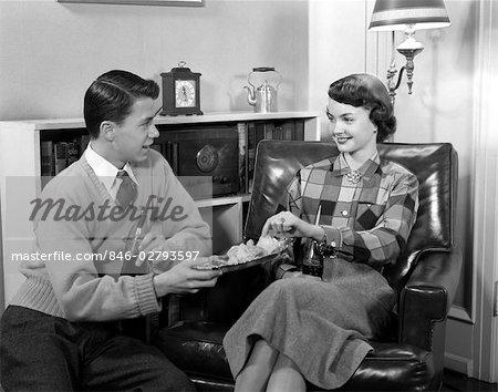 interracial dating 1950s