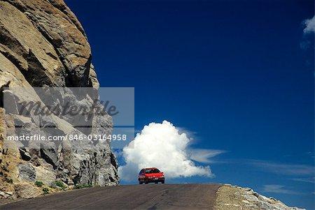 COLORADO MT. EVANS HIGHWAY HIGHEST PAVED ROAD IN NORTH AMERICA