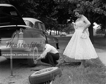 Teenage dating 1950s