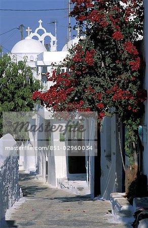 Street,Hora,Amorgos,Greek Islands