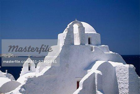 Paraportiani Church,Mykonos,Greek Islands