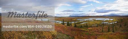 Kuirzinjik Lake Also Named Lobo Lake In The Brooks Range Near The Sheenjek River In Arctic National Wildlife Refuge;Alaska United States Of America