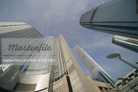 IFC Tower & Four Seasons Hotel,Central,Hong Kong