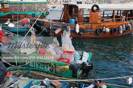 Floating fish market, Sai Kung, Hong Kong