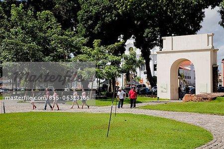 Entrance of Forte do Castelo do Senhor Santo Cristo do Presépio de Belém, Belém, Pará, Brazil