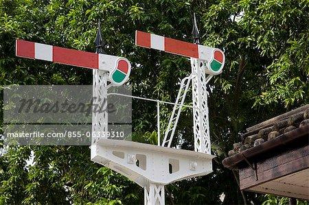 Signal post, Hong Kong Railway Museum, Taipo, Hongh Kong