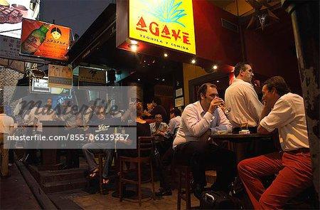 Nightlife at Lan Kwai Fong, Central, Hong Kong