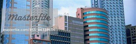 Commercial buildings at Tsimshatsui, Hong Kong