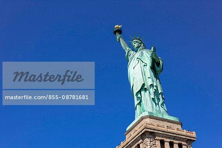 Statue of Liberty on Liberty Island, New York, United States