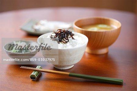 Japanese table setting - Stock Photo & Japanese table setting - Stock Photo - Masterfile - Rights-Managed ...