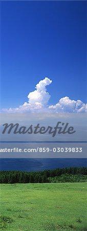 Land,sea and cloud