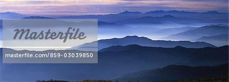 Misty Mountainscape